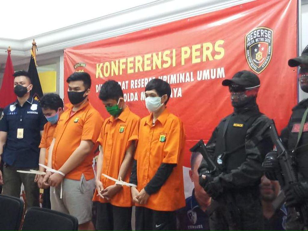 Ditangkap, Pengeroyok Polisi di Demo Ricuh Berstatus Pelajar-Pengangguran