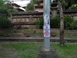 Beredar Poster Provokasi Aksi Tolak Omnibus Law di Bali, Polisi Turun Tangan