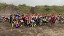 Rizki-Ridho Main Motocross di Bromo KW Garut Tuai Kontroversi