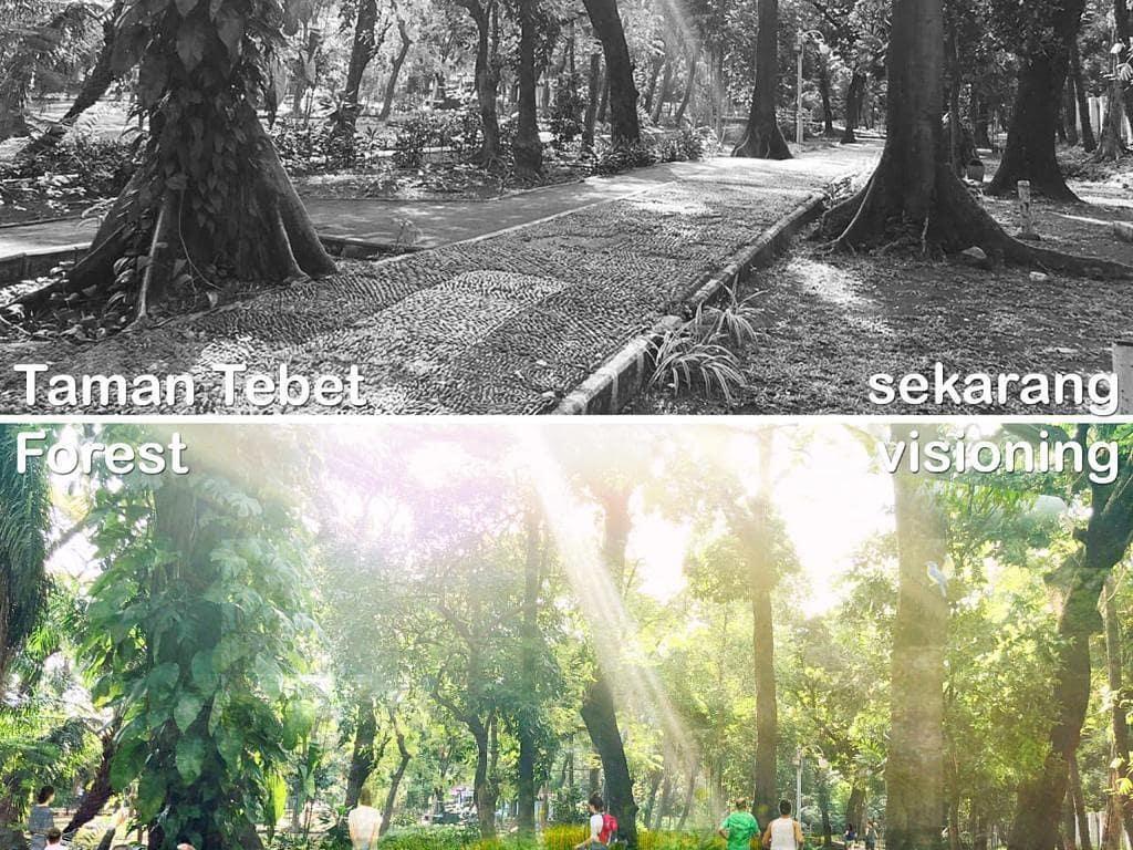 Wah Asyik, Taman Tebet Akan Direvitalisasi Jadi Eco Garden