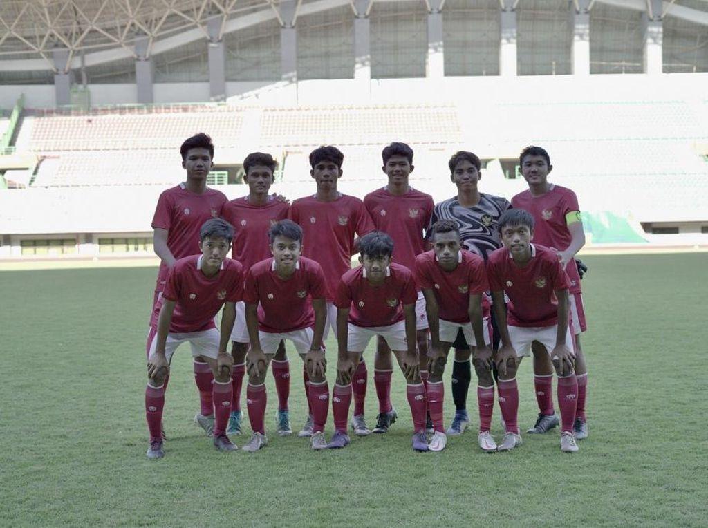 Timnas U-16 Bersiap Hadapi Laga Uji Coba Kedua, Ini Menu Latihannya