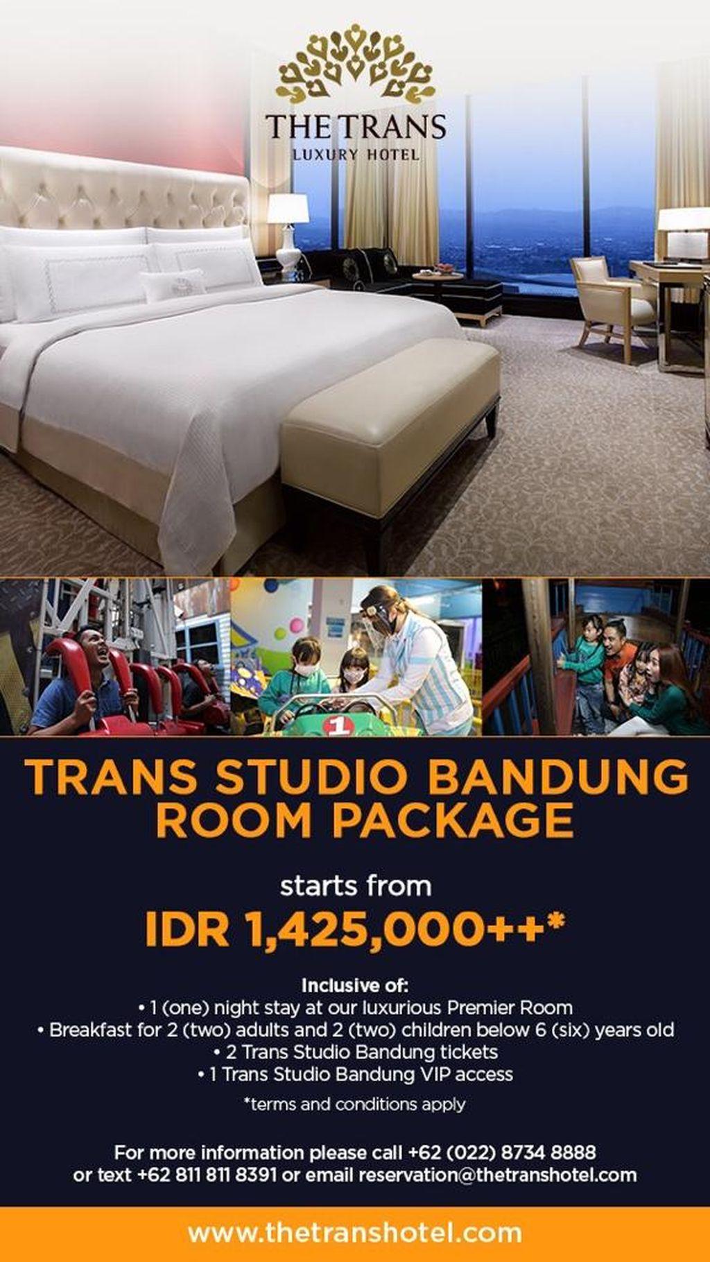Trans Studio Bandung Room Package