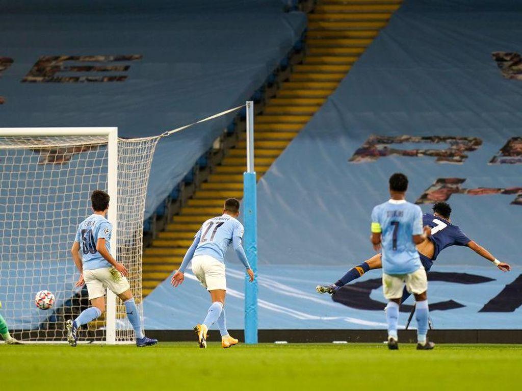 Man City Vs Porto: The Citizens Tertahan 1-1 di Babak Pertama