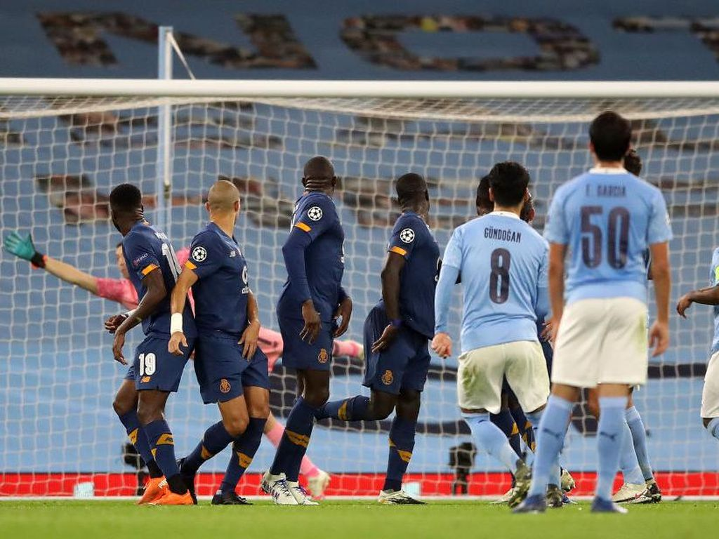 Man City Vs Porto: The Citizens Menang 3-1