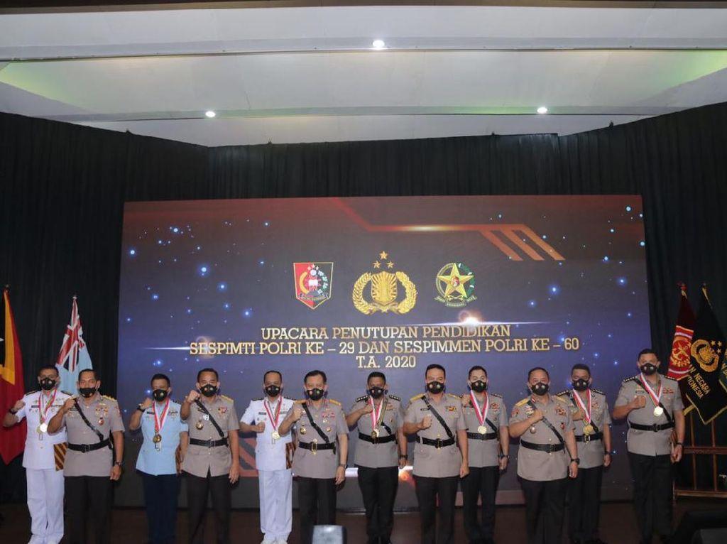 7 Perwira TNI-Polri Lulusan Terbaik Sespimti 2020, Ini Daftarnya