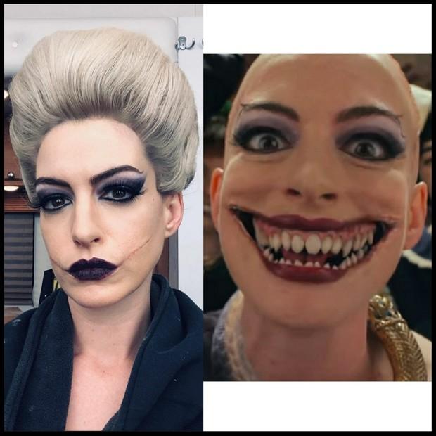 Inspirasi makeup Halloween 2020