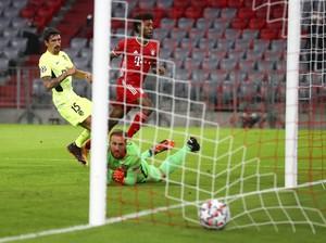 Turun Minum, Bayern Unggul 2-0 dari Atletico