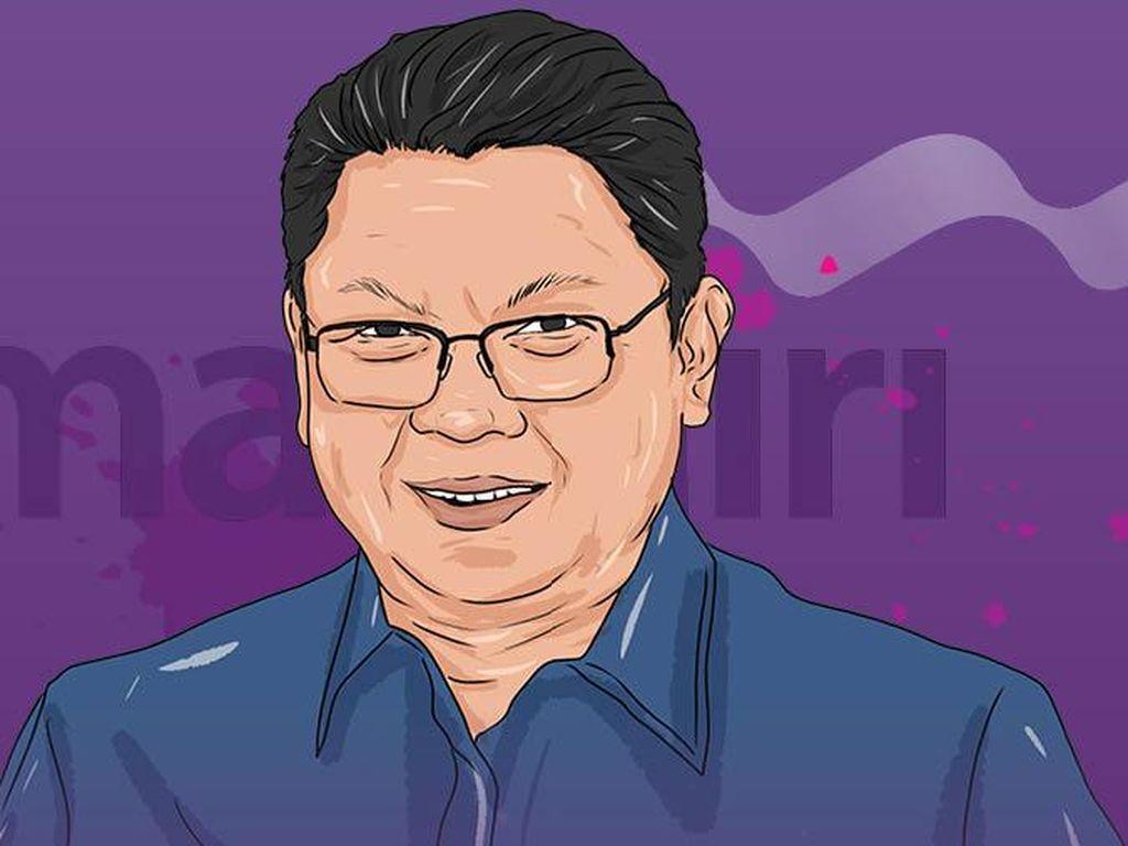 Rekam Jejak Darmawan Junaidi Dirut Baru Bank Mandiri