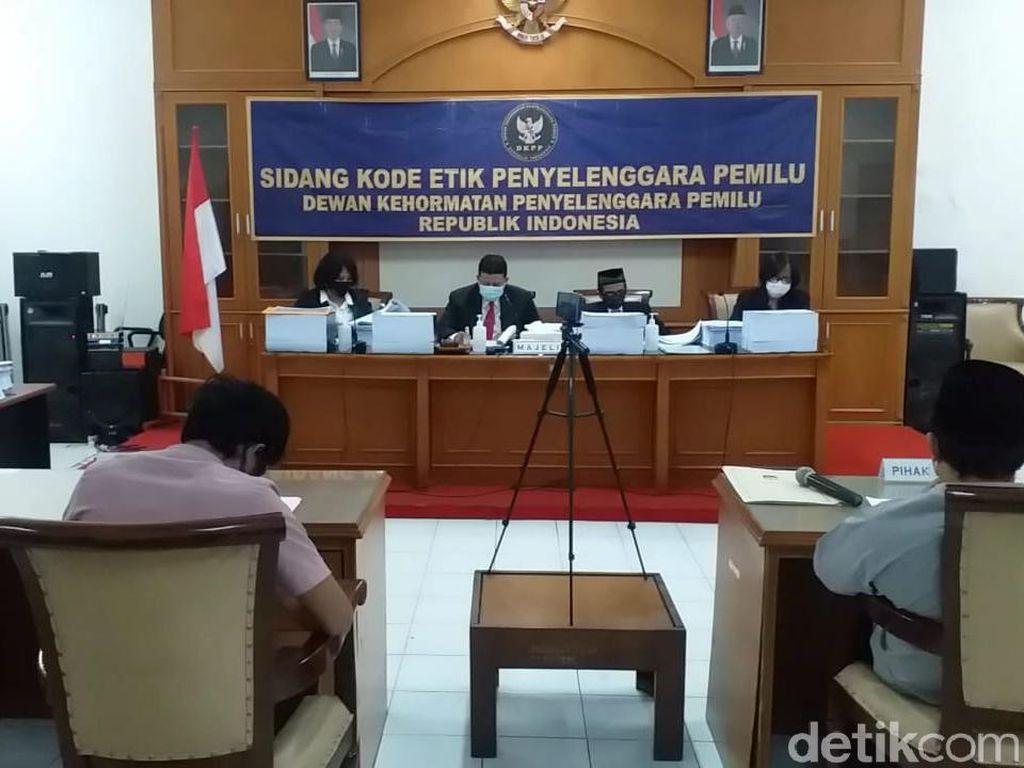 DKPP Putuskan 9 Penyelenggara Pemilu di Surabaya Tak Langgar Kode Etik