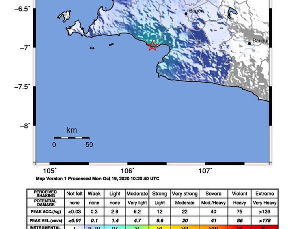 Gempa M 4,4 di Bayah Banten, BMKG: Warga Sempat Berlarian ke Luar Rumah
