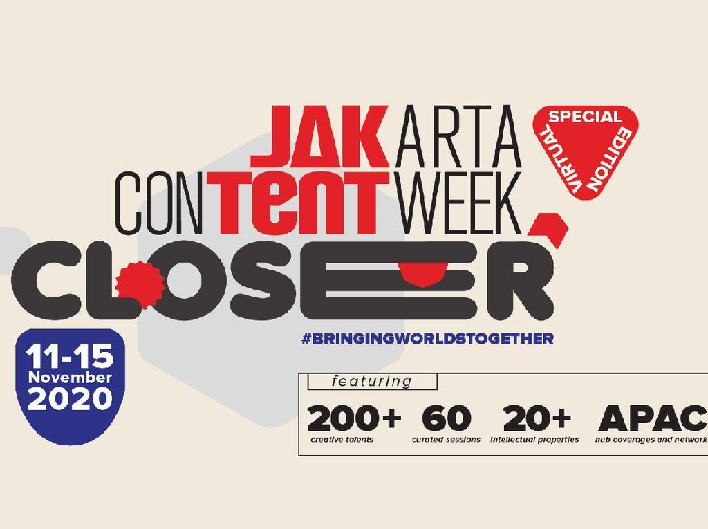 Jakarta Content Week Tampilkan Sophie Kinsella hingga Nas Daily