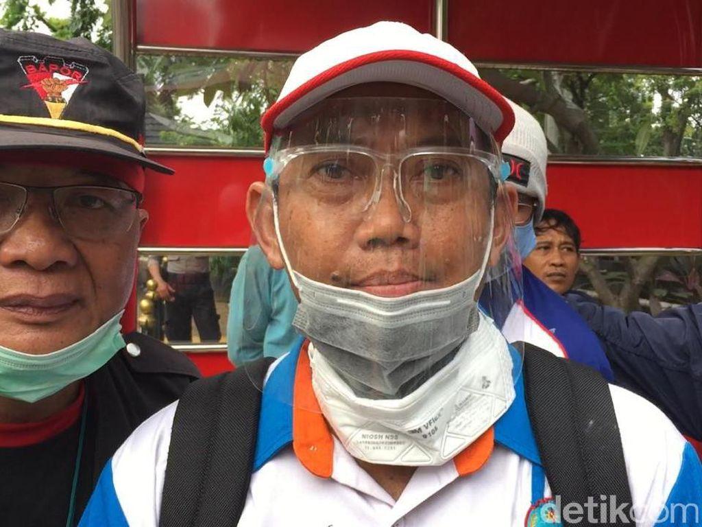 Diterima KSP, Perwakilan Buruh Titip Surat Minta Jokowi Batalkan UU Ciptaker