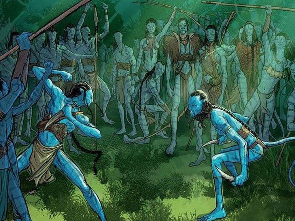 Sekuel Komik Avatar Lanjutkan Cerita Sebelum Film Avatar 2