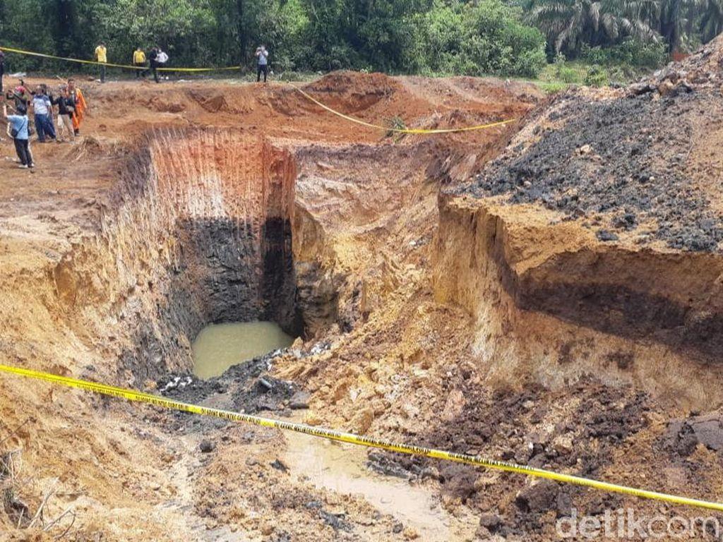 Polres Kobar Tetapkan Satu Tersangka Kecelakaan Tambang Emas Ilegal