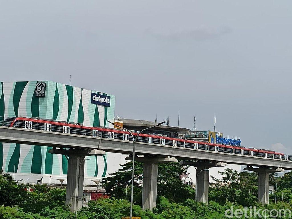 Kereta Sudah Keluar Kandang, Proyek LRT Jabodebek Mau Rampung?