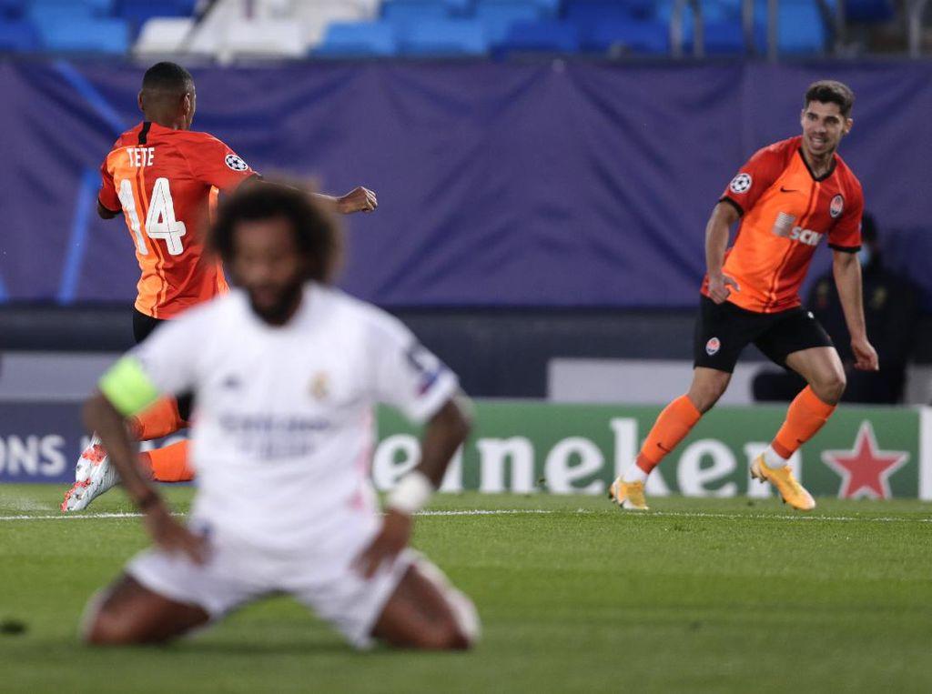 Gol Pertama Shakhtar Bikin Madrid Enggak Pede