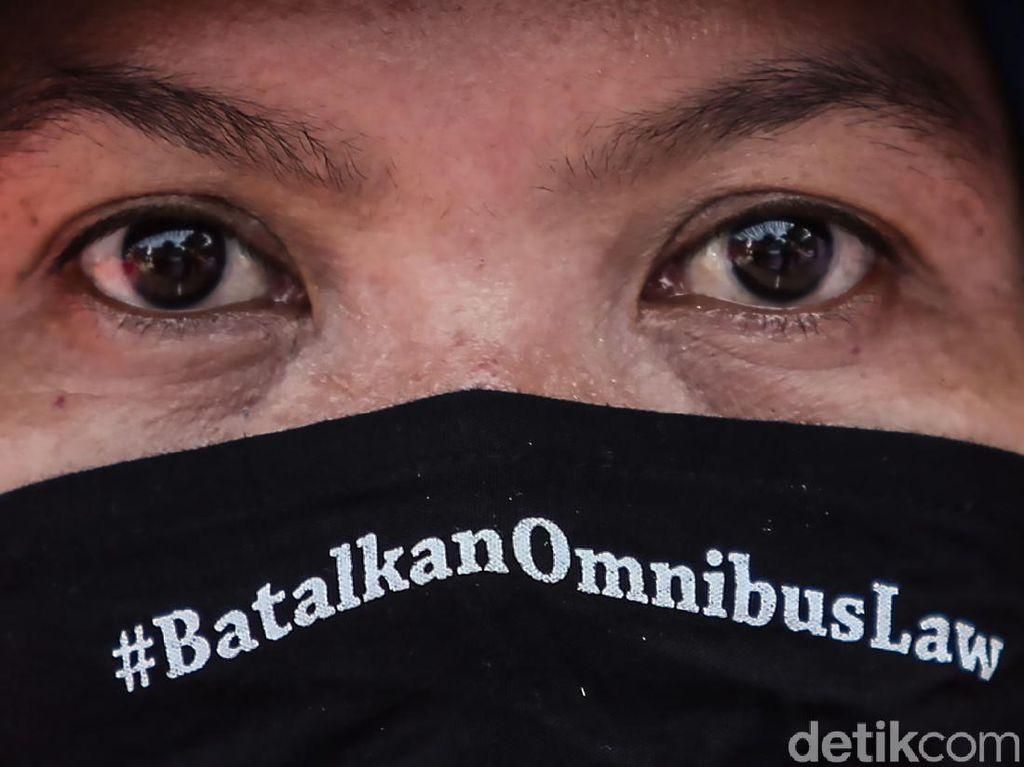 May Day, Buruh Minta Jokowi Batalkan UU Cipta Kerja