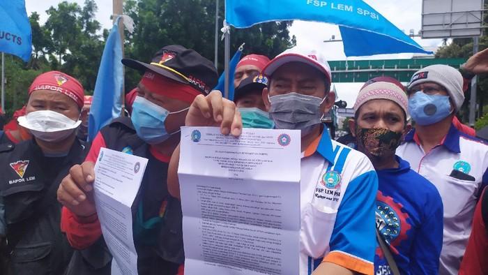 Massa Buruh Minta Difasilitasi Demo di Depan Istana Negara