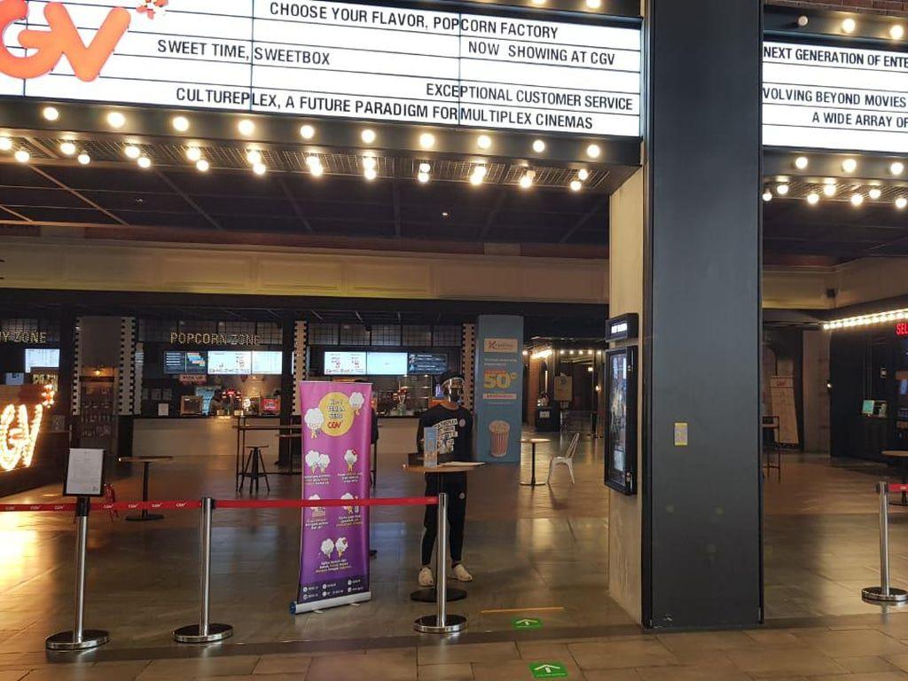 Kapasitas Bioskop di Jakarta Kini Bisa Diisi Separuh