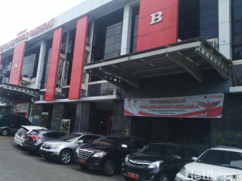 1 Ruang Isolasi di RSUD Tugurejo Semarang Kebakaran