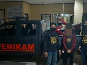 Bawa Sajam saat Demo di Makassar, Seorang Pelajar Diamankan Polisi