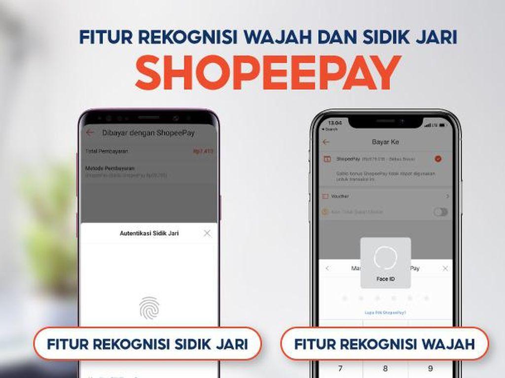 ShopeePay Perkuat Keamanan dengan Fitur Rekognisi Wajah & Sidik Jari