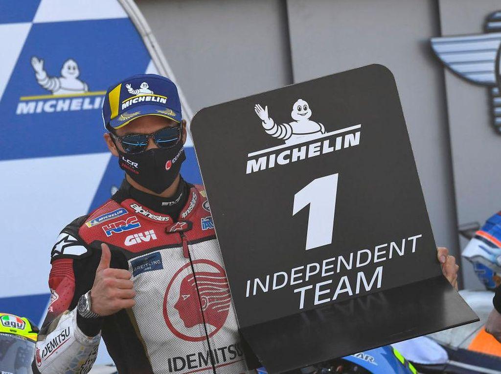 Tak Sekadar Start Terdepan, Nakagami Incar Podium MotoGP Teruel