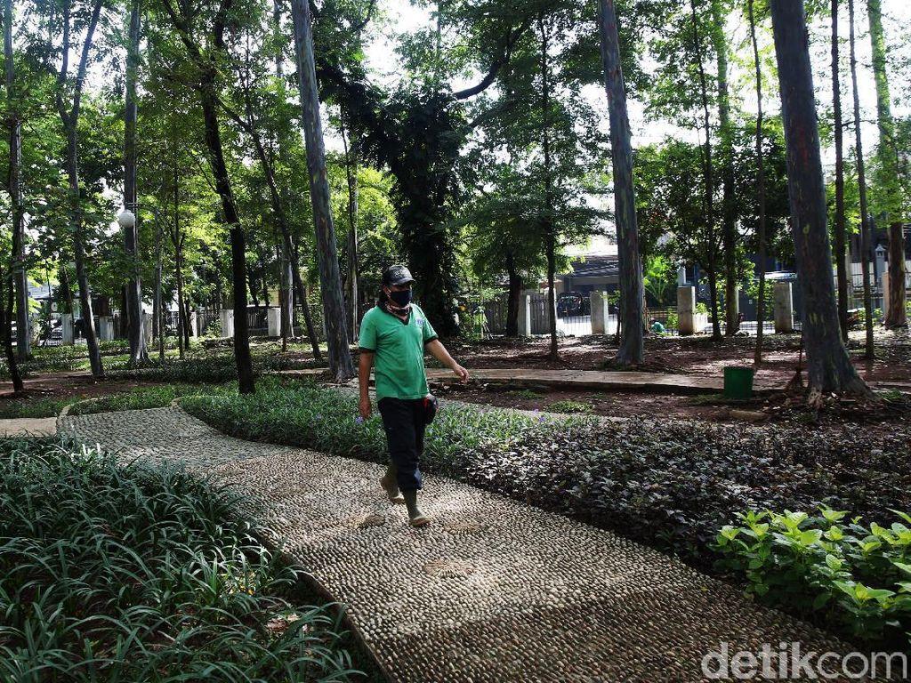Taman-taman di Jakarta Tutup di Libur Natal dan Tahun Baru 2021