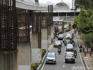 Sejarah Tiang Monorel Jakarta yang Kini Mangkrak