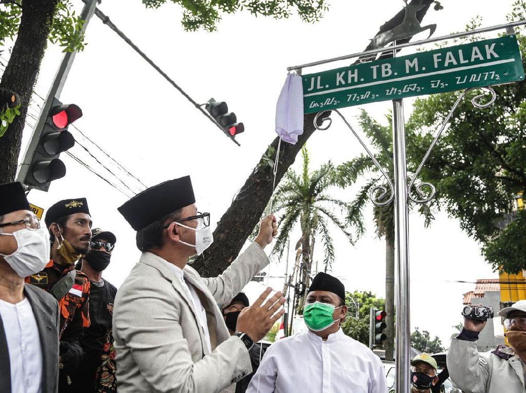 Hari Santri Nasional, Bima Arya Ganti Nama Jalan di Bogor Barat
