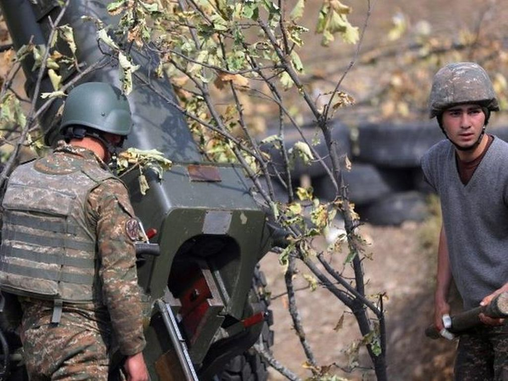 Putin: Hampir 5.000 Orang Tewas dalam Konflik Armenia-Azerbaijan