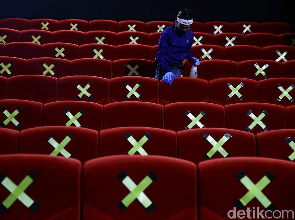 Pengunjung Boleh Masuk Bioskop Cuma yang Hijau, IniMaksudnya