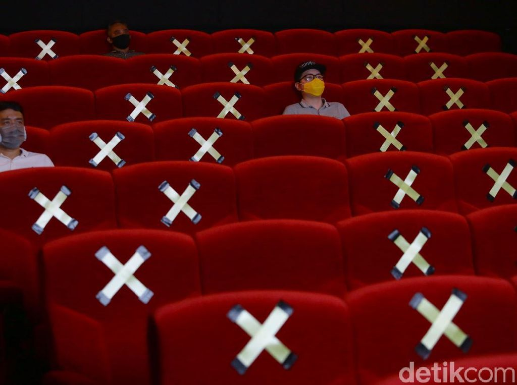 Ini Syarat Bioskop di DKI Agar Bisa Terapkan Kapasitas 50 persen