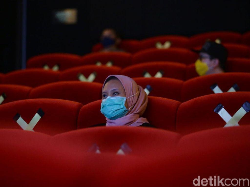 Uji Coba, Pemprov Pastikan Seluruh Bioskop di Jakarta Buka Hari Ini