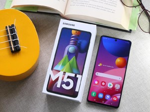 Review Samsung Galaxy M51, Susah Ngabisin Baterainya