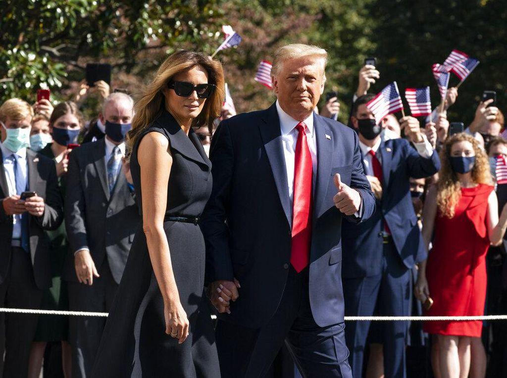 Melania Disebut Sarankan Trump Terima Kekalahan di Pilpres AS