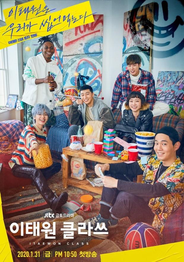 Drama Menginspirasi Park Seo Joon Itaewon Class/Imdb.com