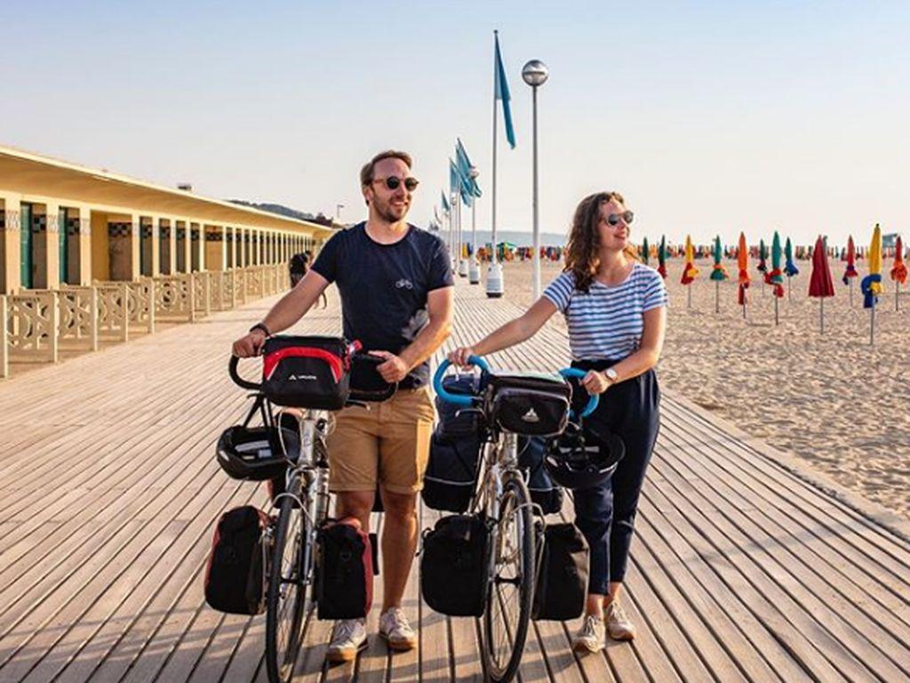 Enak Nih, Pesepeda di Paris Punya Jalur Menuju Laut
