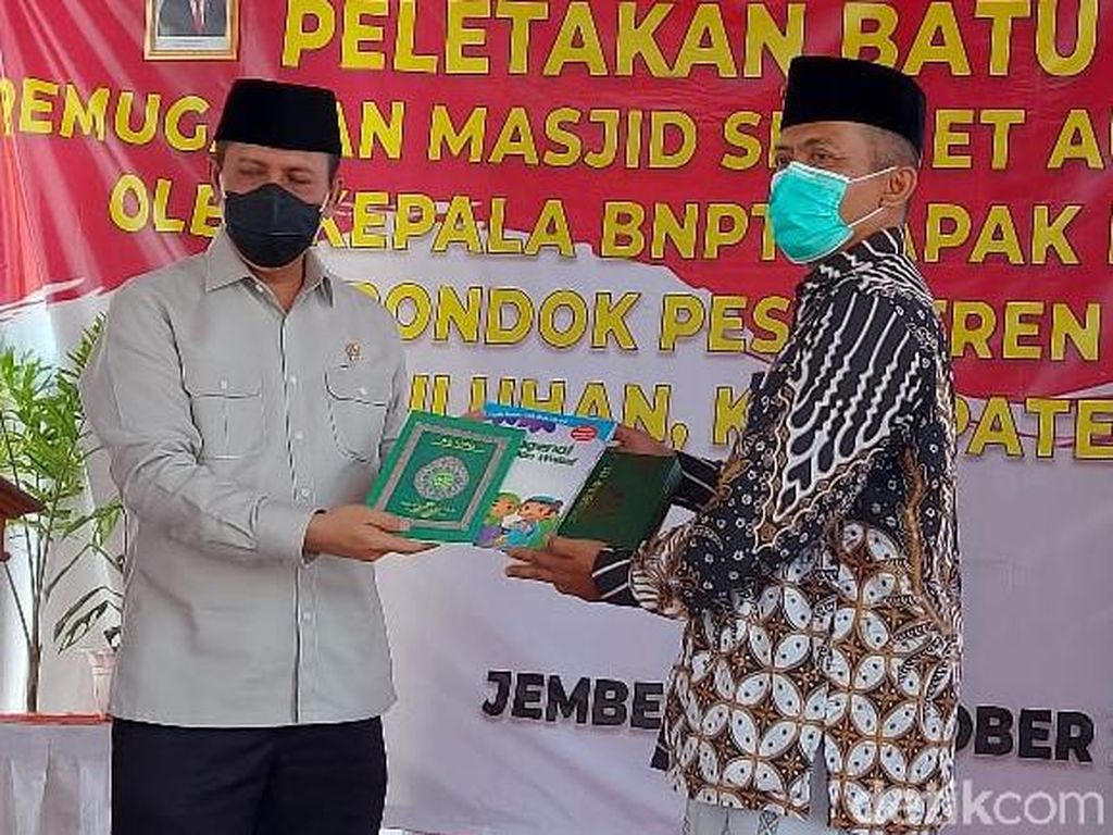 Datangi Ponpes di Jember, Kepala BNPT Harap Masjid Jadi Benteng Paham Radikal