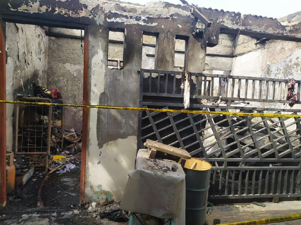 Jenazah Sekeluarga Korban Tewas Kebakaran di Tangerang Dibawa ke Yogyakarta