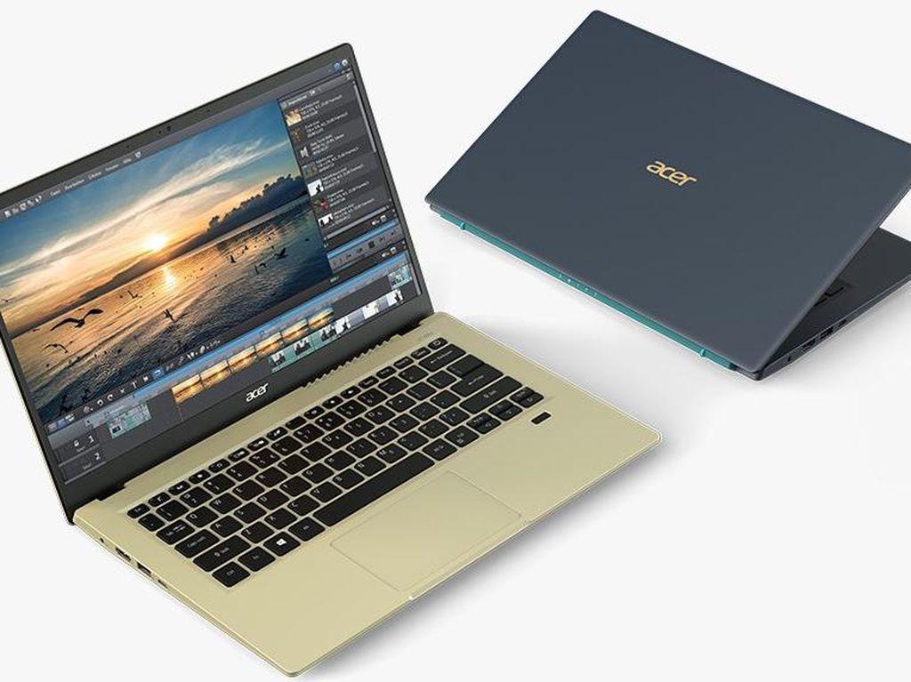 AcerPamer Jajaran Laptop Baru dengan Intel Tiger Lake