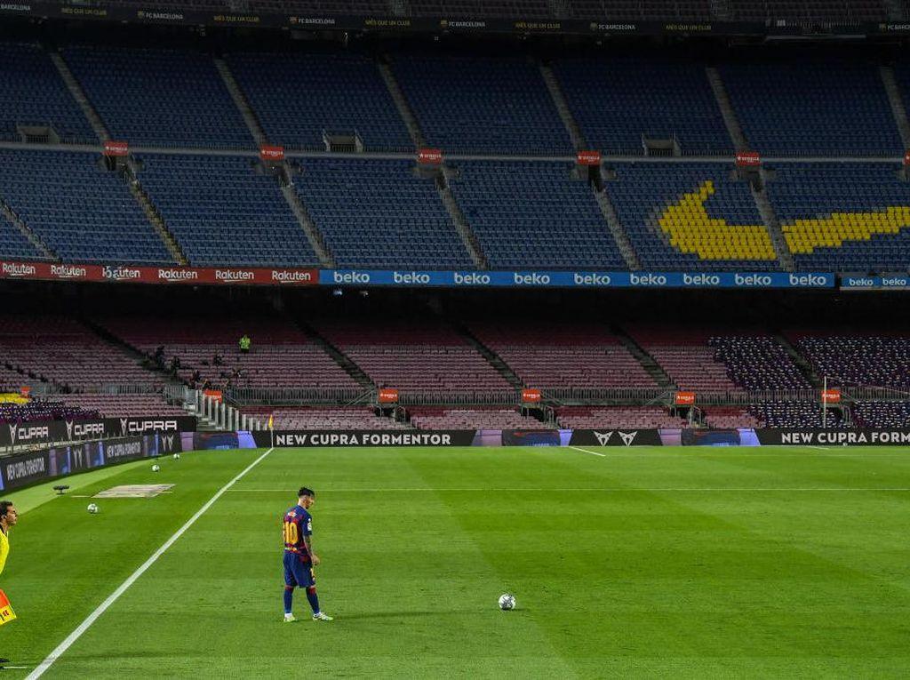 Pique: Camp Nou Baru Wajib Dinamai Lionel Messi