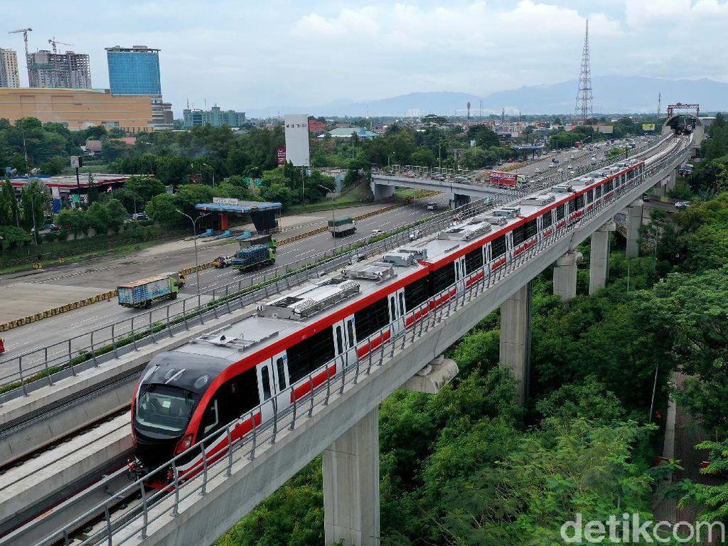 Terungkap! Ini Biang Kerok Operasi LRT Jabodebek Molor ke 2022