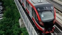 LRT Tabrakan di Cibubur!