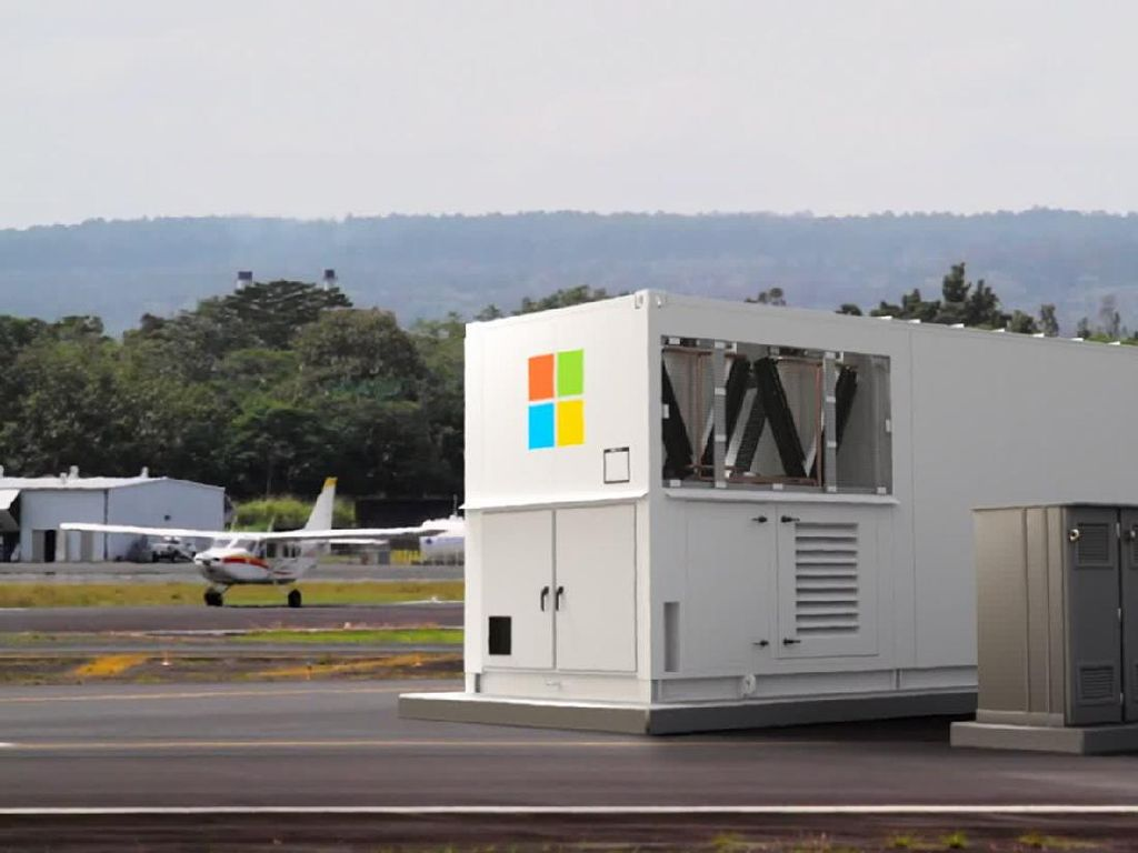 Microsoft Bikin Data Center Modular Berbentuk Kontainer