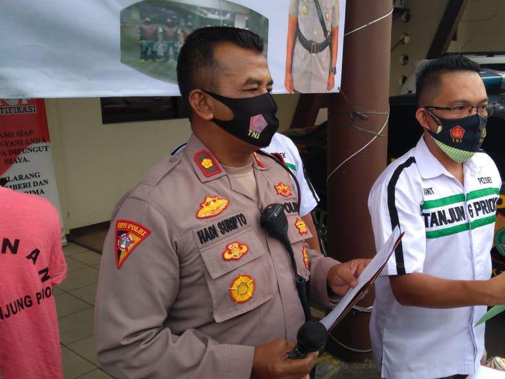 Bacok Korban, 2 Pelaku Penodongan di Terminal Priok Ditangkap Polisi