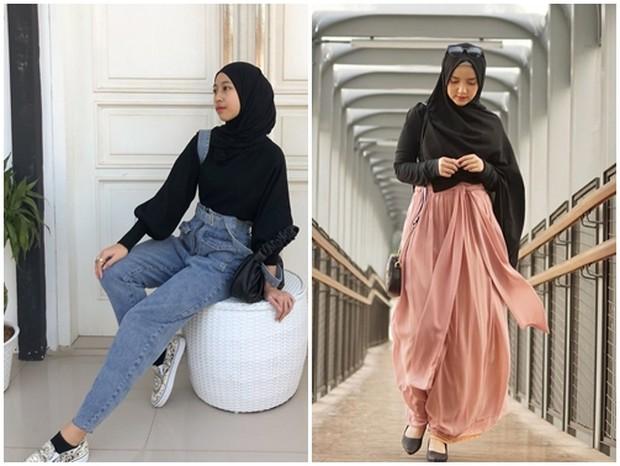 Adiba dan Wirda yang punya selera fashion stylish cocok untuk inspirasi hijabers masa kini.