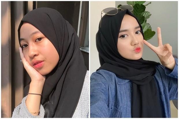 Adu gaya putri ustaz kondang Indonesia Adiba Khanza dan Wirda Mansur.