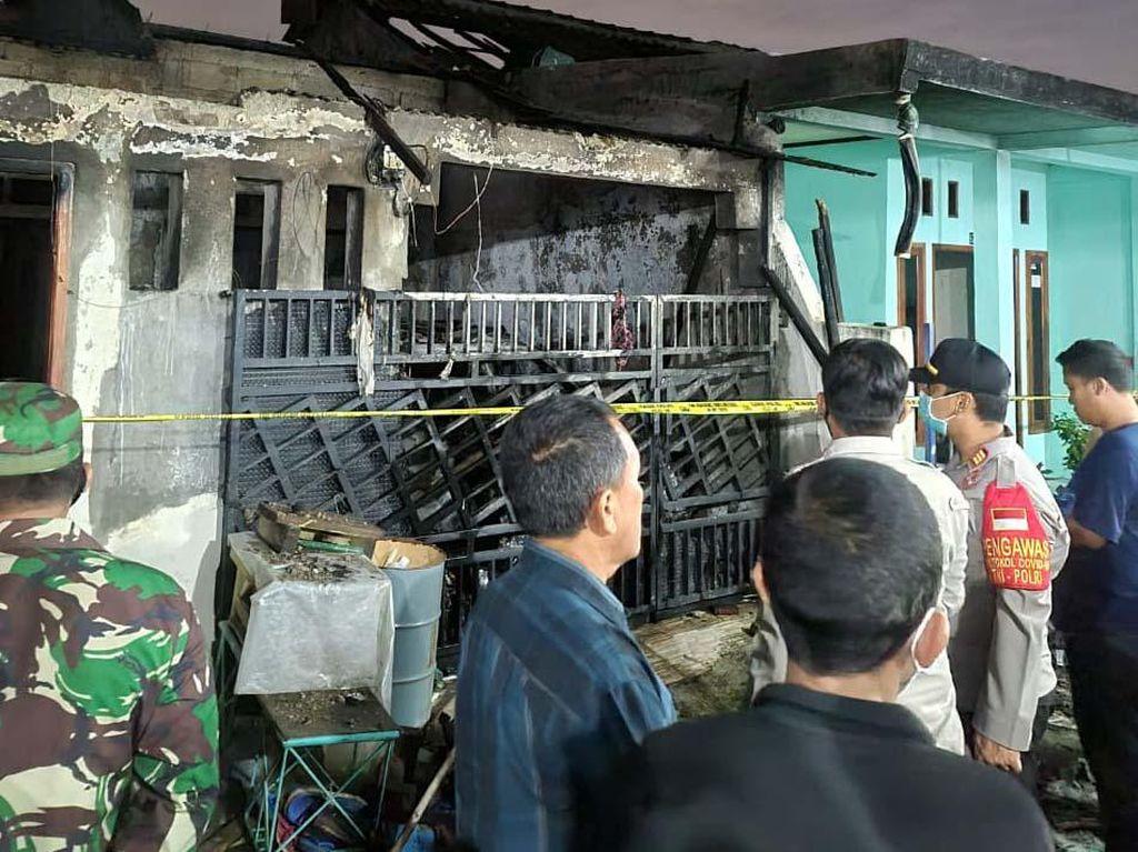 Detik-detik Kebakaran Rumah Tewaskan Sekeluarga di Tangerang