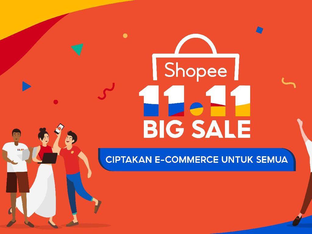 Shopee Kasih Diskon Sampai 90% di Harbolnas 11.11